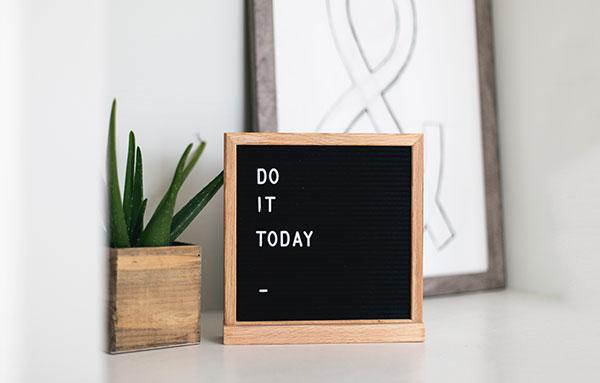 Motivation statt Zwang: Eine positive Formulierung der Ziele schafft eine gute Grundstimmung.