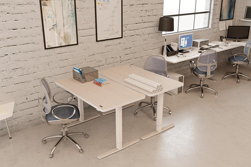 Yaasa Desks sind ein Highlight in co-working Büros.
