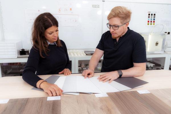 Bei Yaasa bestimmen wir das Design unserer Produkte abhängig von den neuesten Bürotrends.