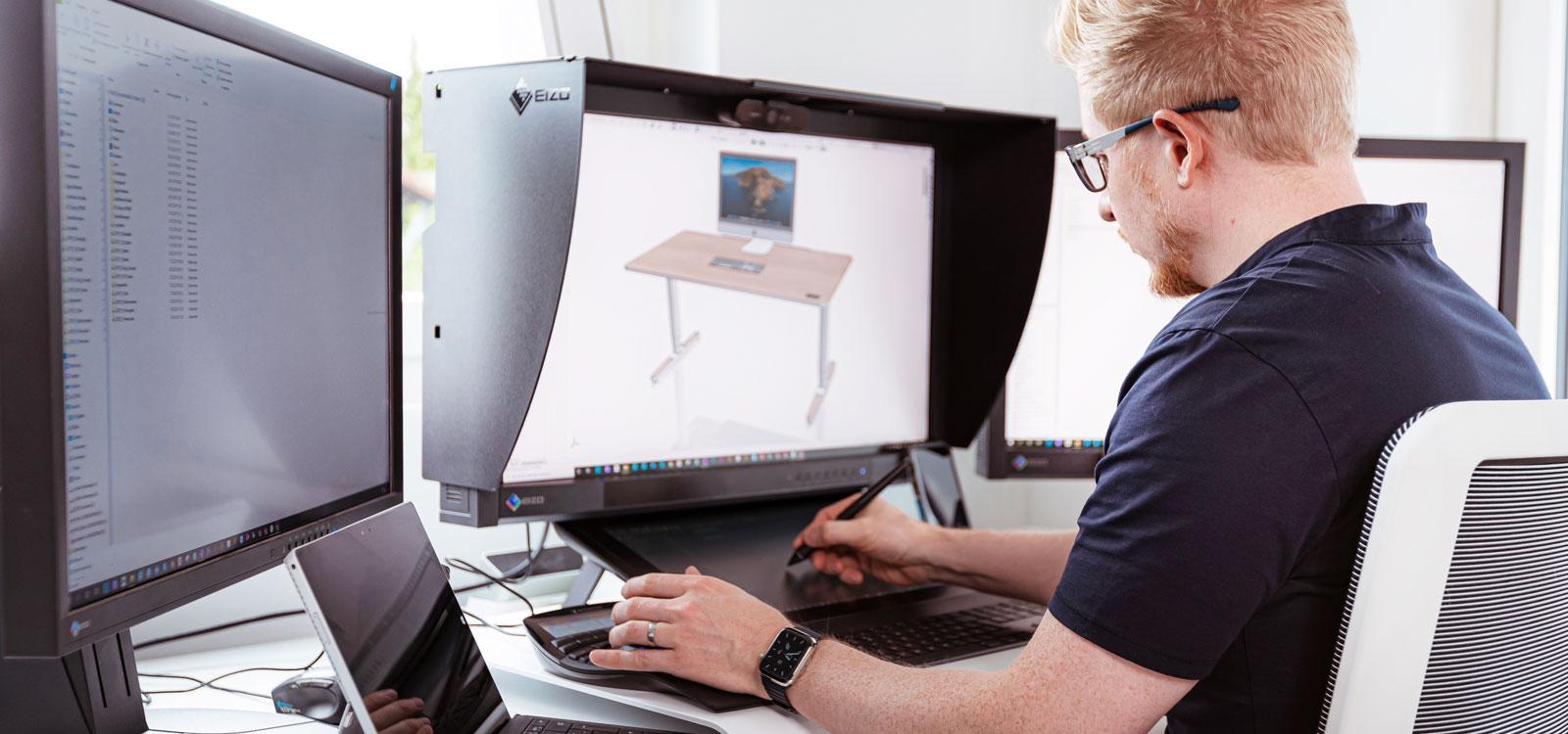 Wir kreieren unsere innovativen Yaasa Produkte in kreativer Weise mit dem Input unserer Kunden.