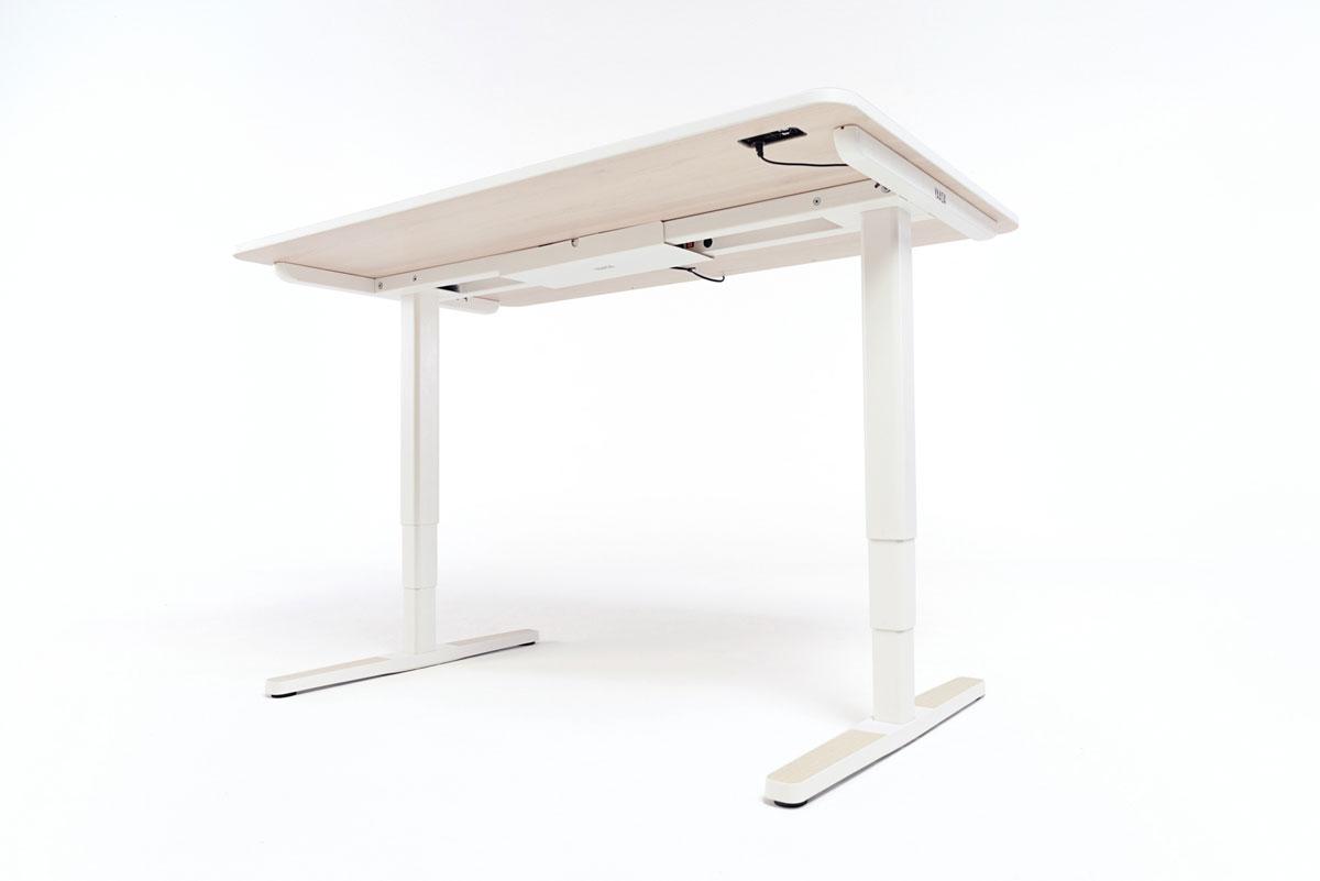 Die Technologie unter dem Yaasa Desk ermöglicht beste Performance und schnelle Höhenverstellung.