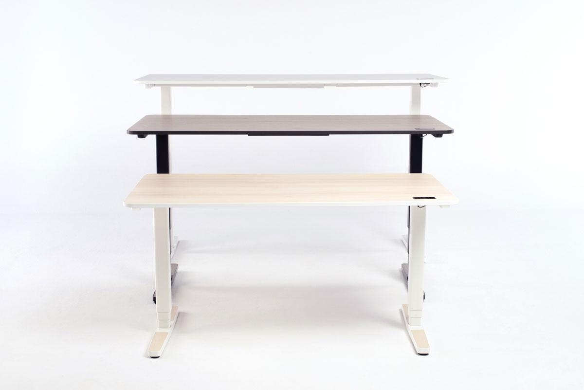 Der Yaasa Desk Pro II ist in drei verschiedenen Größen erhältlich und kann somit deinen individuellen Platzansprüchen gerecht werden.