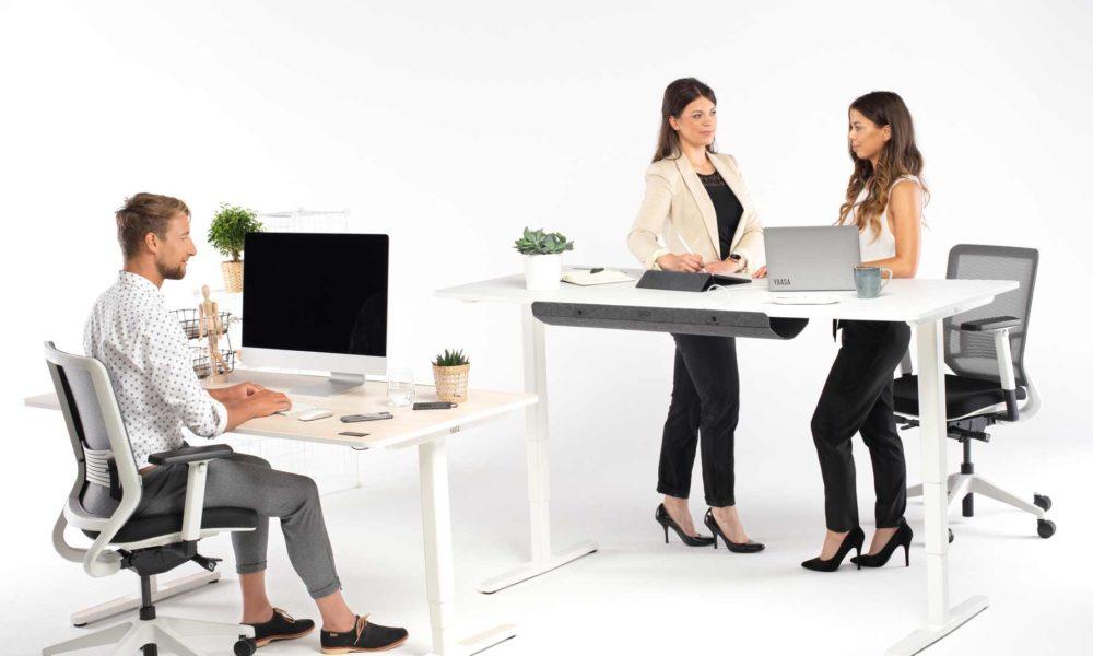 Yaasa Produkte sorgen für ein größeres Wohlbefinden bei der Arbeit.